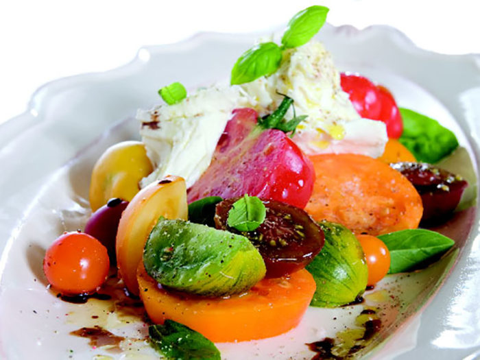 Heirloom Tomato Salad by Chef Craig