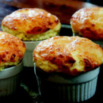 Corn Cob and Aged Cheddar Souffle by Cehf Craig