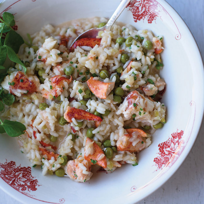 Lobster and Sweet Pea Risotto by Chef Craig