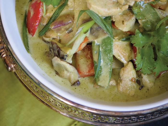 Thai chicken curry by Craig