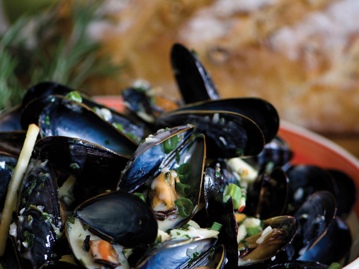Mussels Normandy by Chef Craig